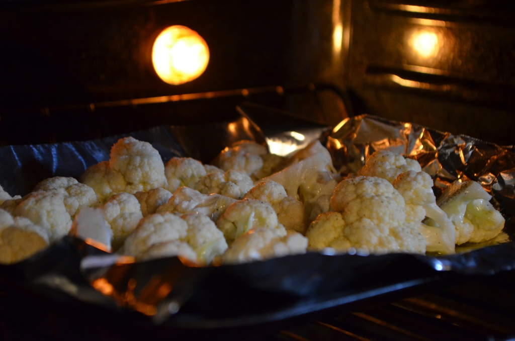 cauliflower in the oven
