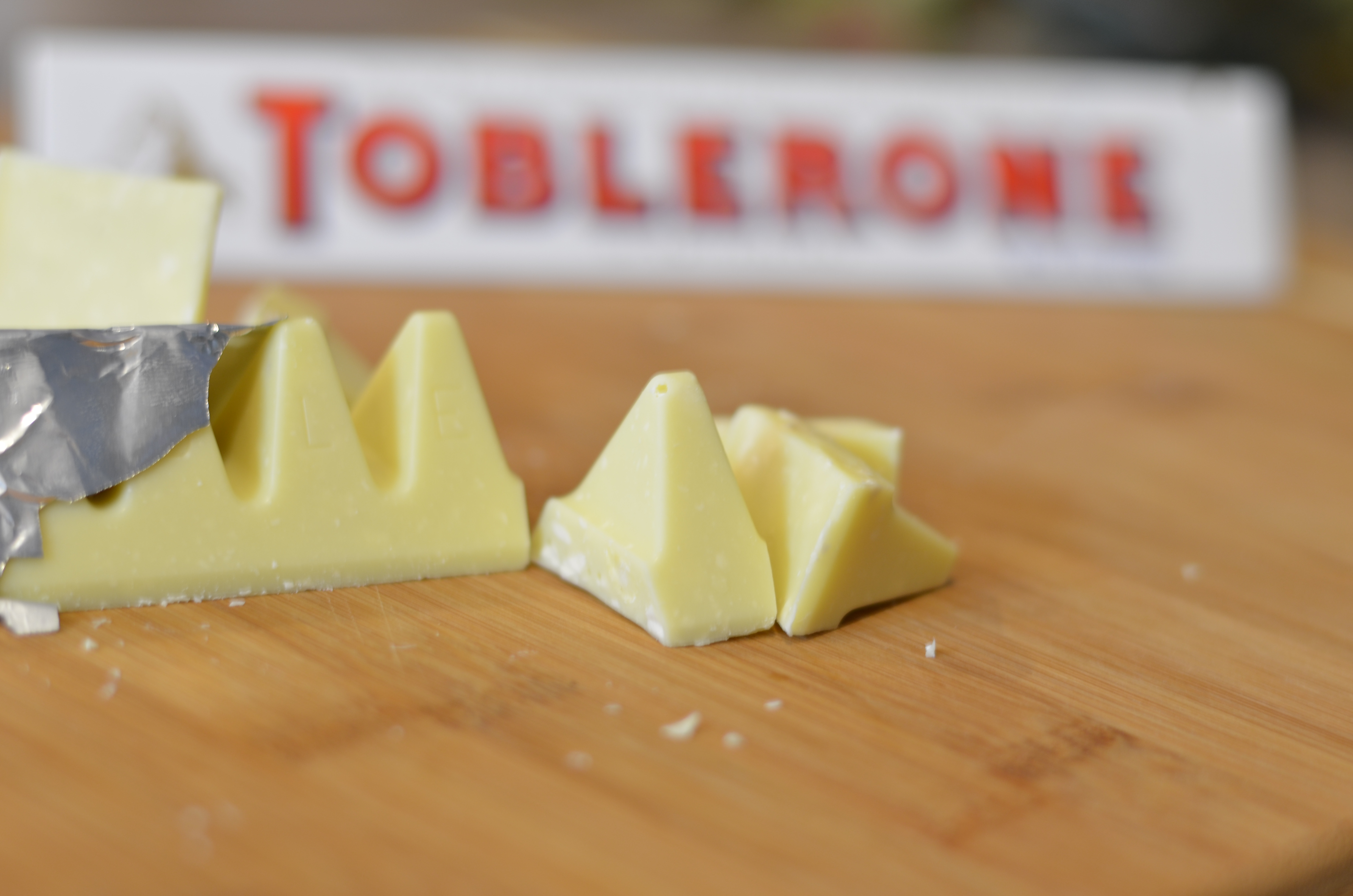 White Chocolate Toblerone Fudge Bok Choy And Broccoli
