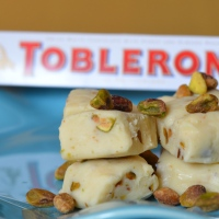 White Chocolate Toblerone Fudge