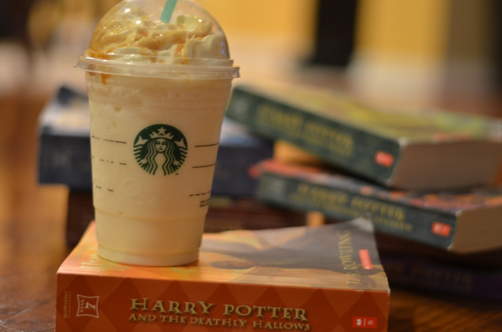 Harry Potter Butterbeer Latte/Frappuccino | Bok Choy and Broccoli