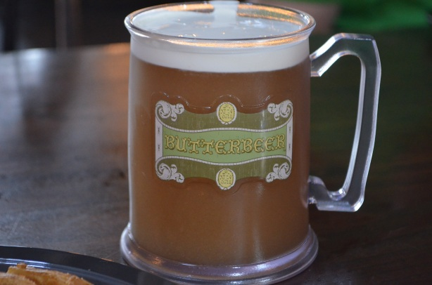 Butterbeer at Universal Orlando Resort