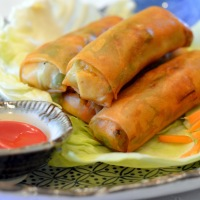 Lumpiang Gulay (Vegetable Spring Roll)